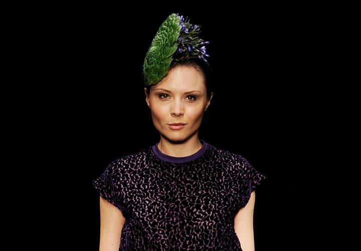 nina robenhagen 39 Designer Annette Von Einems Floral Fashion